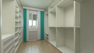 szafy w garderobie
