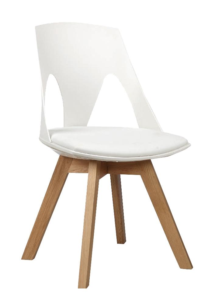 Krzesło z plastiku skandynawskie