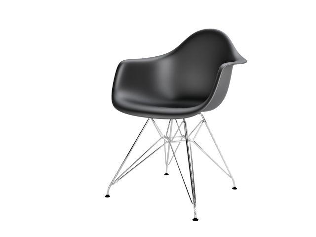 Nowoczesne krzesło plastikowe